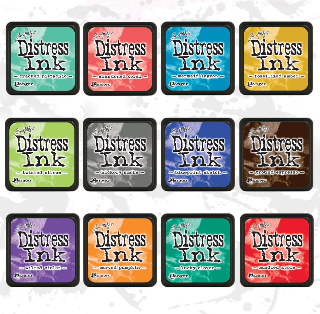 Ranger Distress Mini Ink Pads | Creative Scrapbooker Magazine
