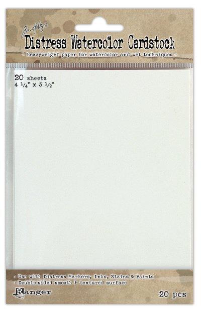 Tim Holtz for Ranger Distress Watercolor Cardstock | Creative Scrapbooker Magazine