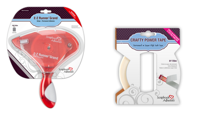 Scrapbook Adhesives by 3L E-Z Runner Grand and Crafty Foam Tape