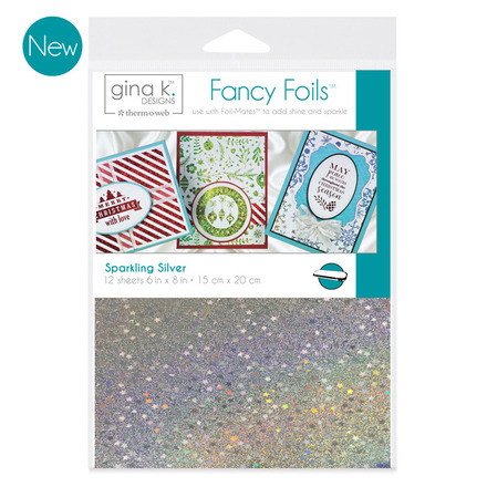 Fancy Foils designed by Gina K. Deisgns for Therm O Web | Creative Scrapbooker Magazine