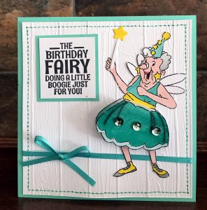 connie nichol, art impressions, birthday fairy