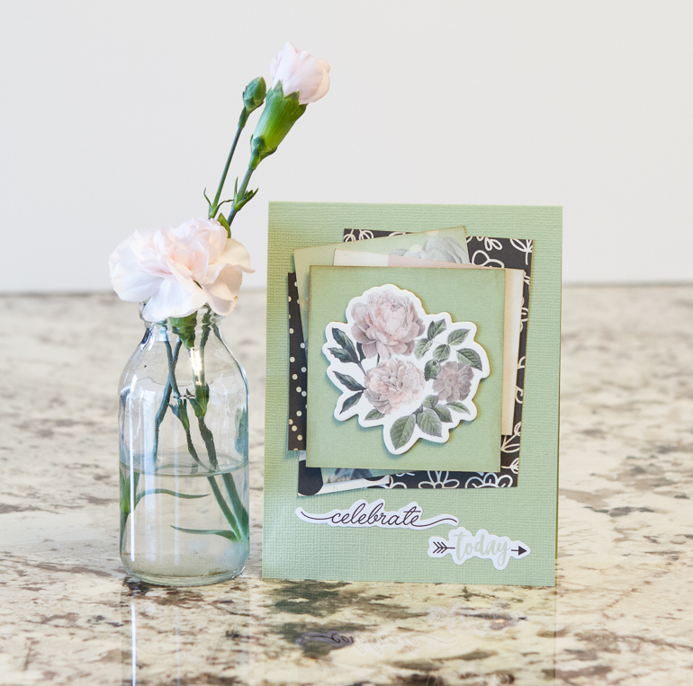 Birthday Cards designed by Kim Gowdy featuring Simple Stories Beautiful Collection | Creative Scrapbooker Magazine