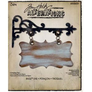 Sizzix Hanging Sign Die