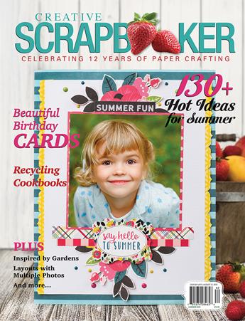 Summer 2018 - Creative Scrapbooker Magazine Cover