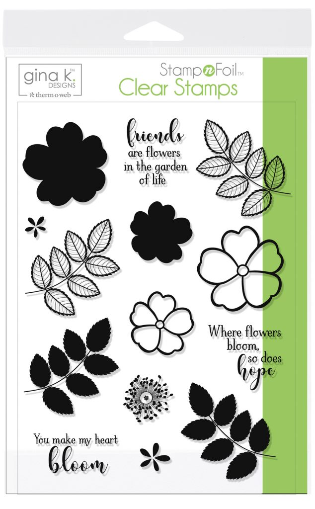 Whee Flowers Bloom Stamp N Foil Designs for Therm O Web | Creative Scrapbooker Magazine