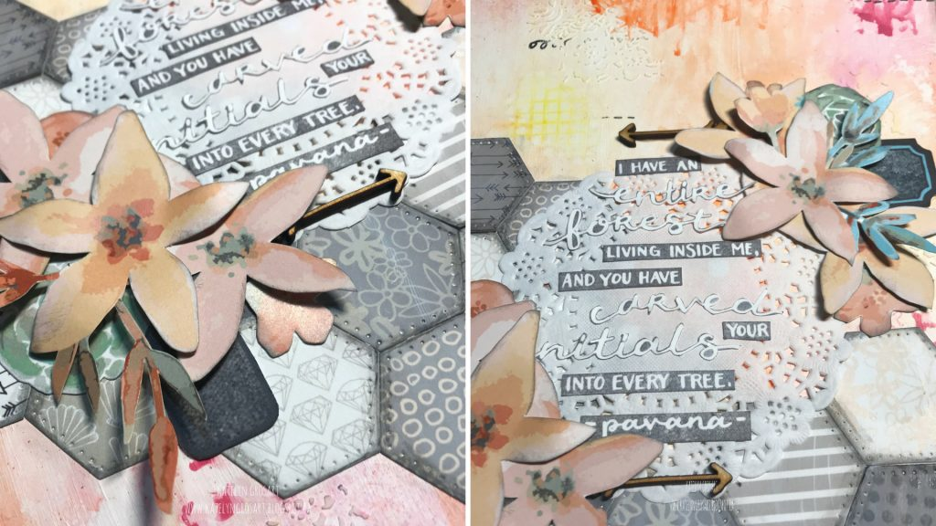 Art Journal Page Designed by Katelyn Grosart | Creative Scrapbooker Magazine