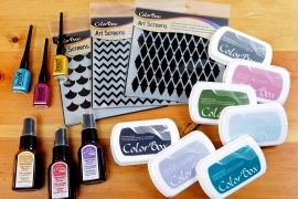 Art Screens, Smooch and more Clearsnap product | Giveaway | Creative Scrapbooker Magazine