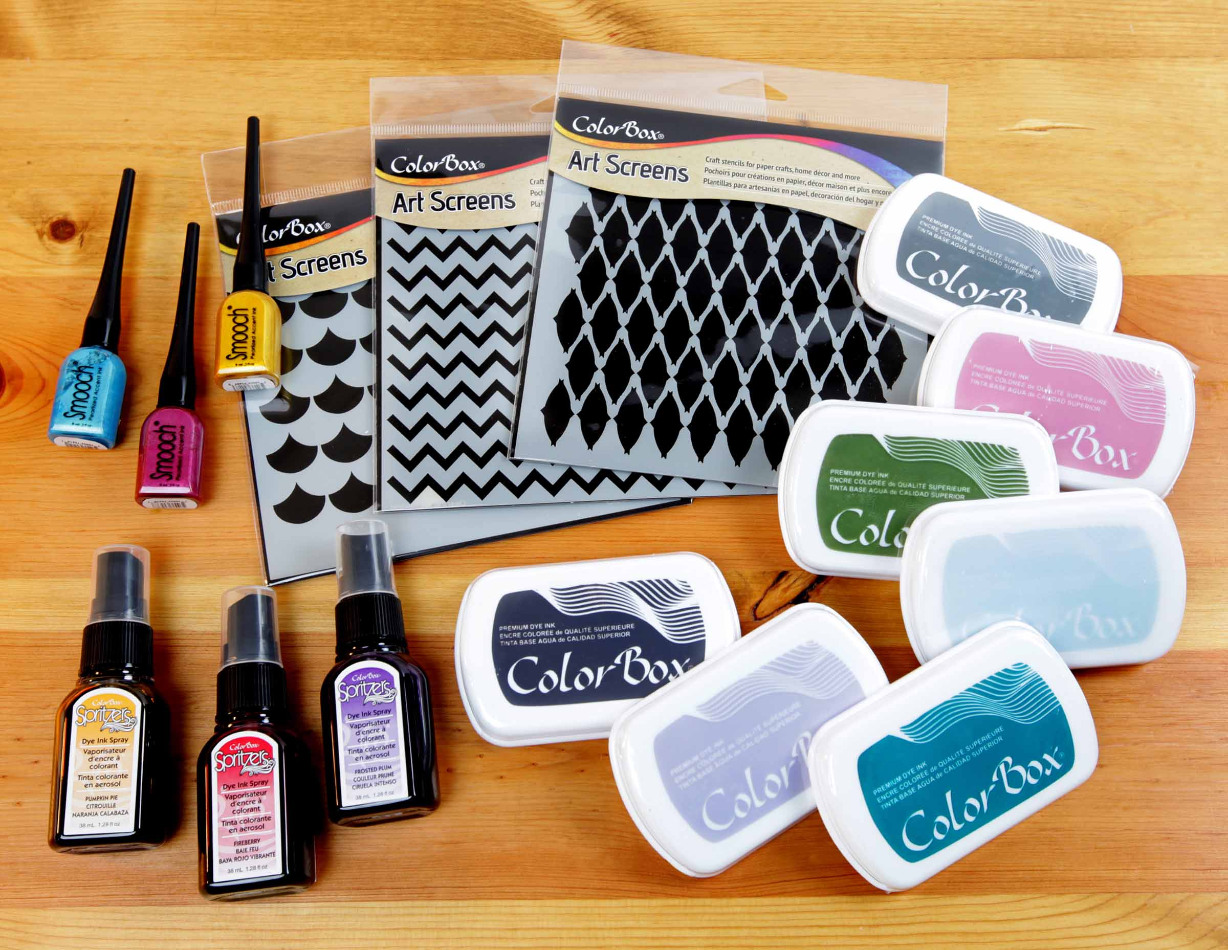 Clearsnap ColorBox Assortment of Products | Giveaway | Creative Scrapbooker Magazine