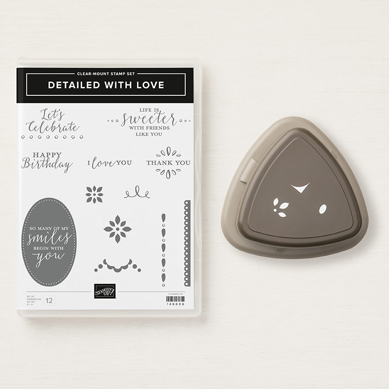 Detailed With Love Stamp and Punch by Stampin' Up! | Creative Scrapbooker Magazine