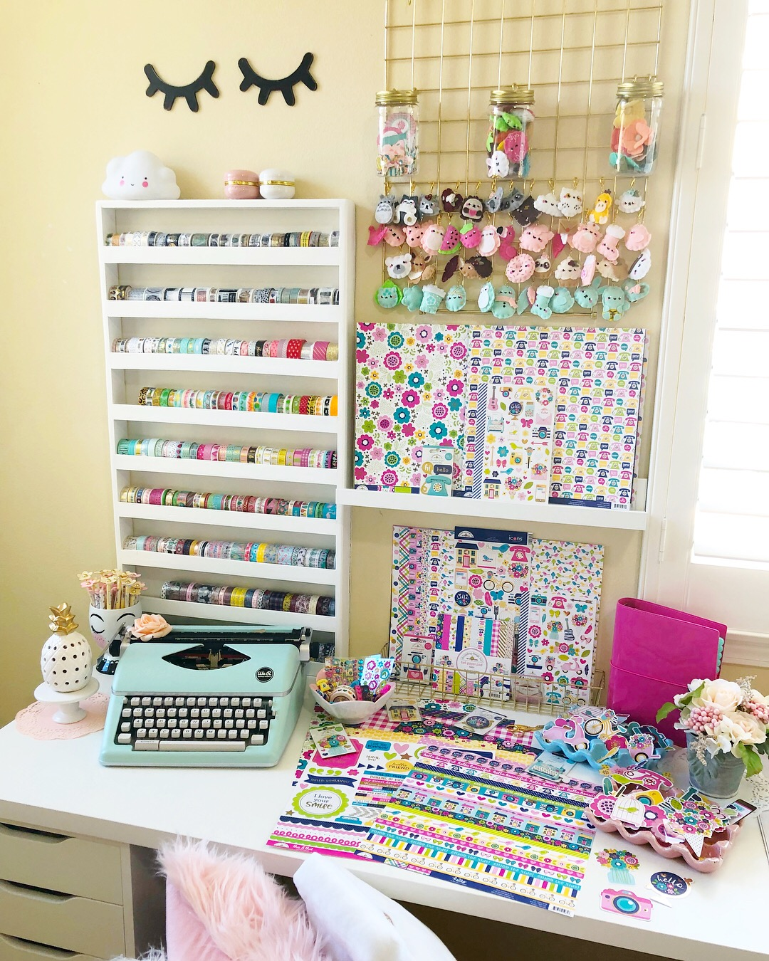 Simple Stories Design Team member / Jomelle Gomez' Creative space / Planner fun