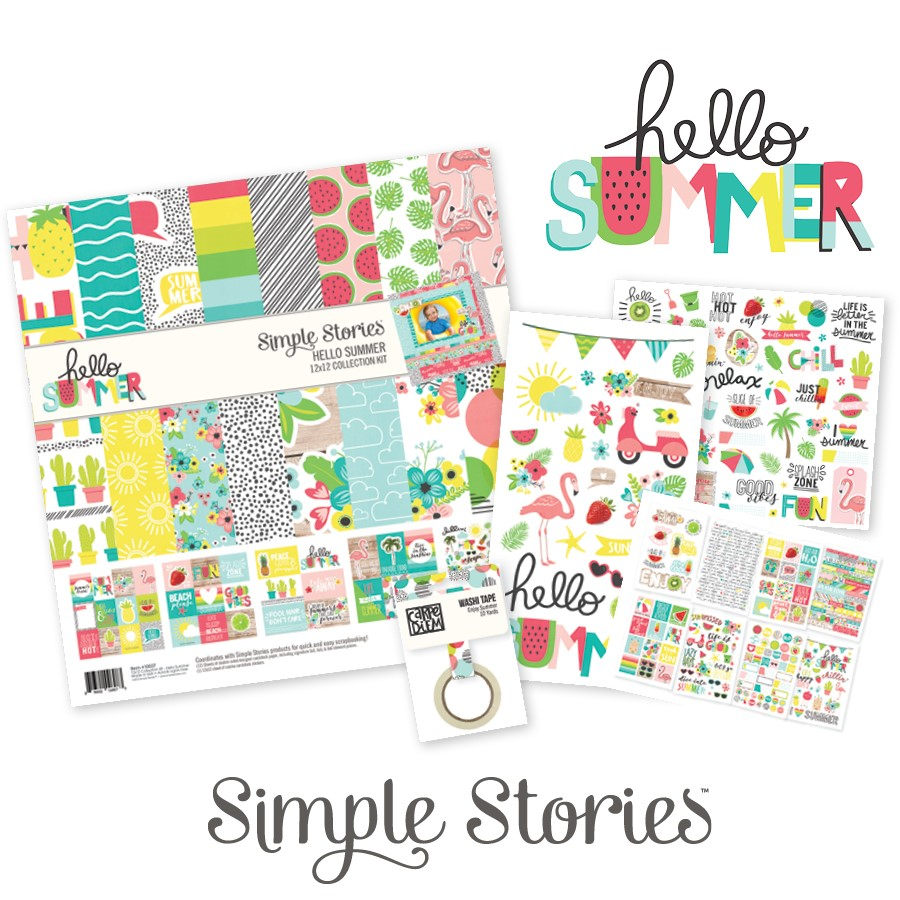 Simple Stories Hello Summer Collection