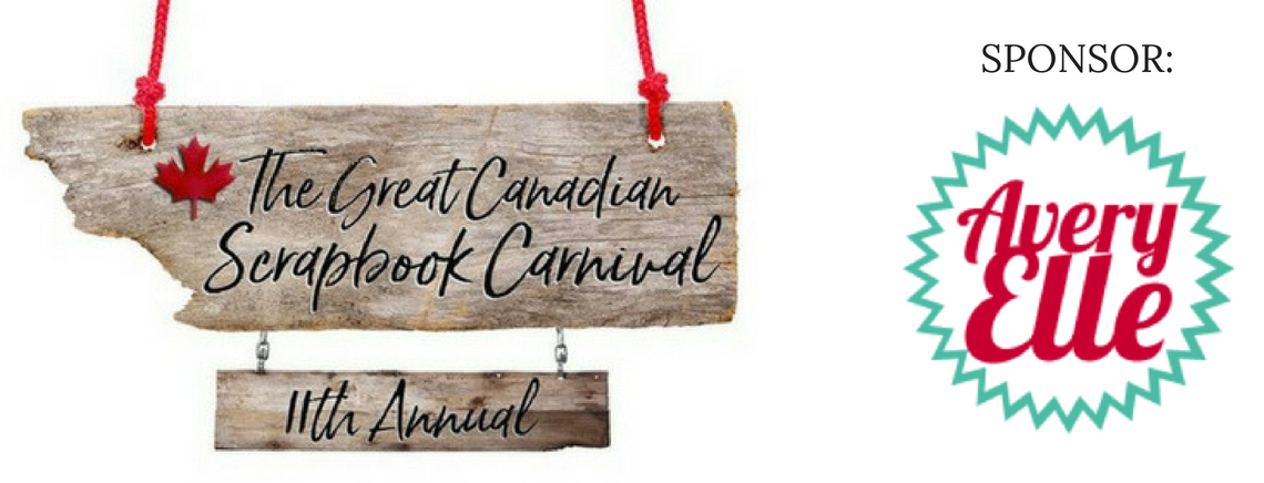 The Great Canadian Scrapbook Carnival Sponsor- Avery Elle