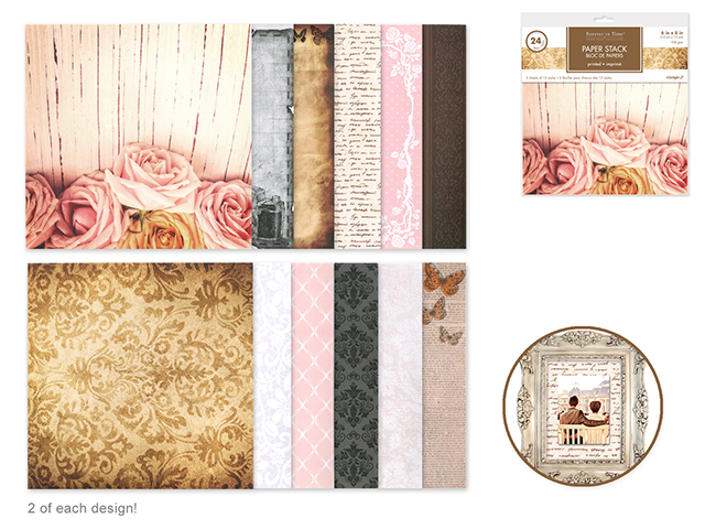 MultiCraft Patterned Paper | Creative Scrapbooker Magazine