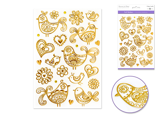 MultiCraft Foil Stickers | Creative Scrapbooker Magazine