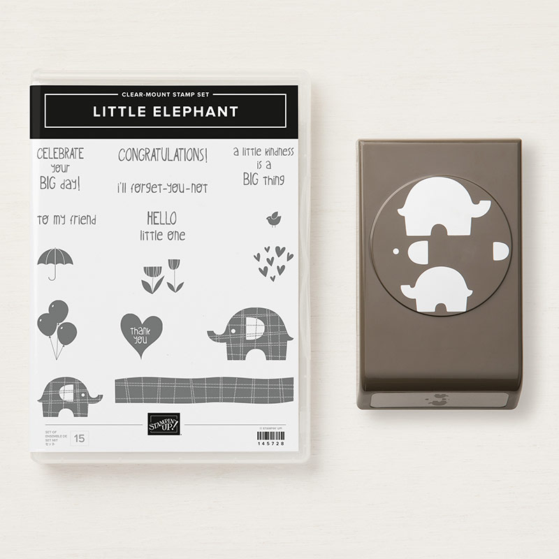 Little Elephant Stamp and Punch by Stampin' Up! | Creative Scrapbooker Magazine