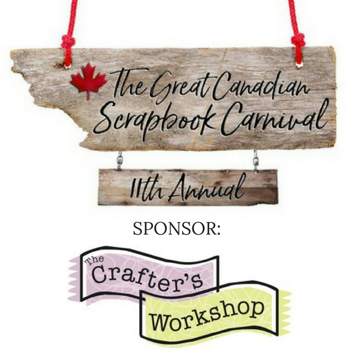 The Crafter's Workshop | The Great Canadian Scrapbook Carnival Sponsor