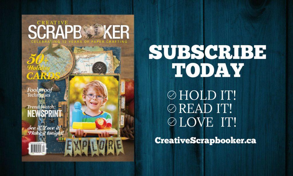 Creative Scrapbooker Magazine Fall 2018 Cover
