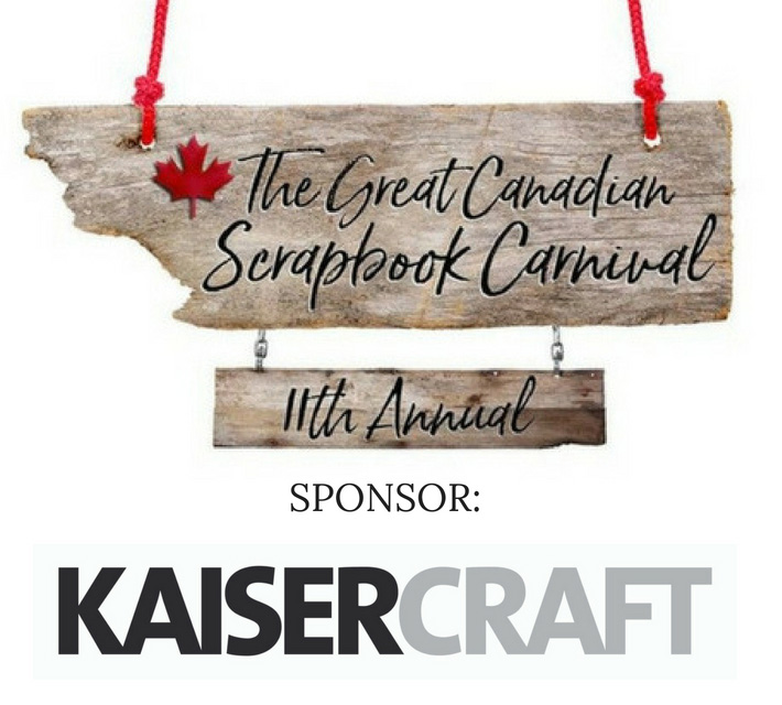 Kaisercraft The Great Canadian Scrapbook Carnival Sponsor | Creative Scrapbooker Magazine