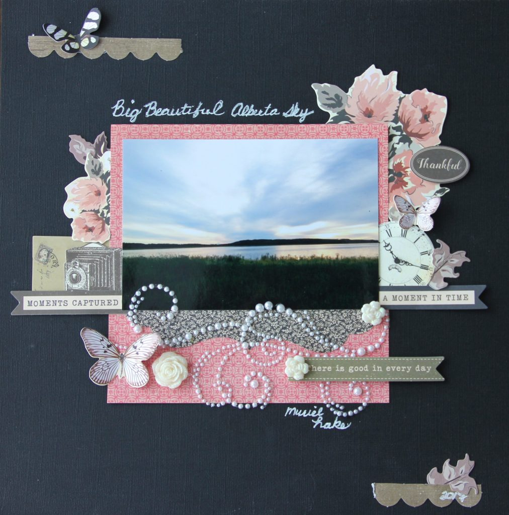 Kaisercraft Scrapbook Layout Designed by Jayme Loge | Creative Scrapbooker Magazine