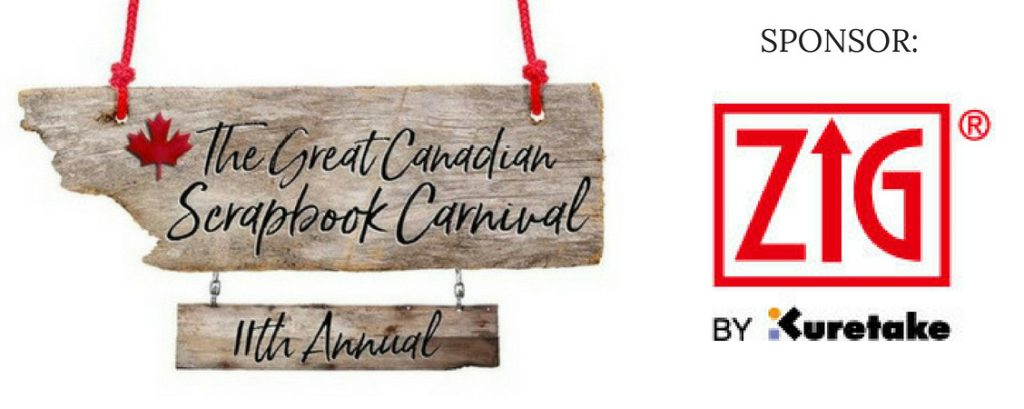 Kuretake Zig Carnival Sponsor - The Great Canadian Scrapbook Carnival | Creative Scrapbooker Magazine