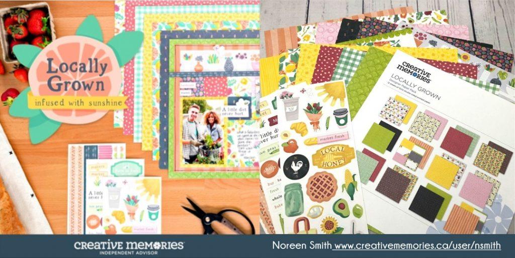 Creative Memories Locally Grown Collection