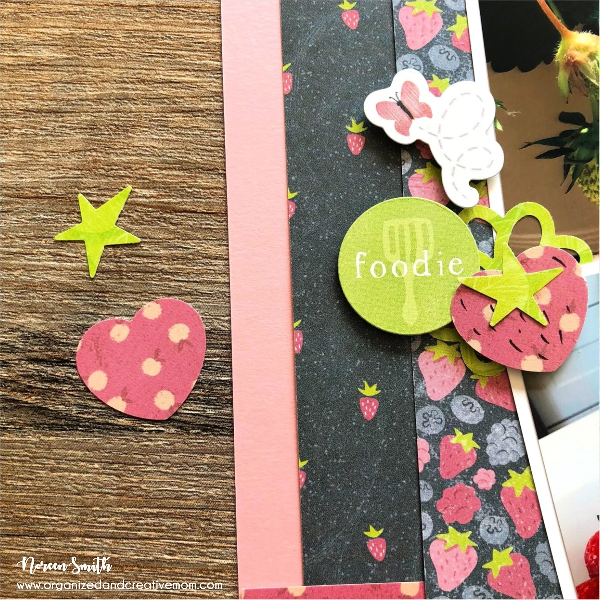 Scrapbook Layout Designed by Noreen Smith featuring the Locally Grown Collection by Creative Memories | Creative Scrapbooker Magazine