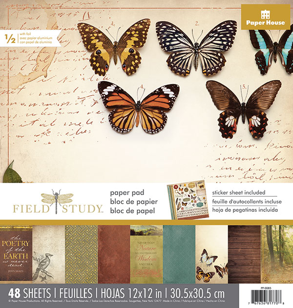 Paper House Productions Field Study Collection | Creative Scrapbooker Magazine