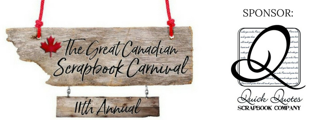 QuickQuotes | Great Canadian Scrapbook Carnival Sponsor