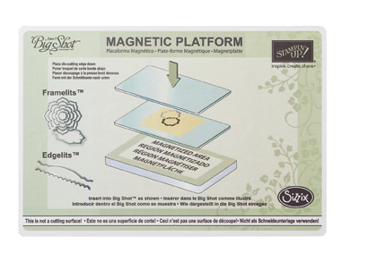 Stampin' Up! Magnetic Platform | Creative Scrapbooker Magazine