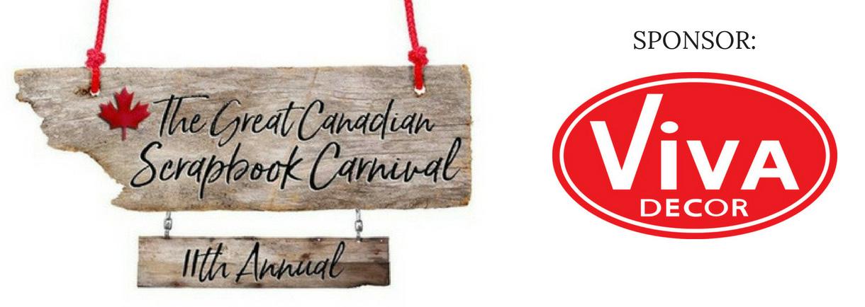 Viva Decor The Great Canadian Scrapbook Carnival Sponsor | Creative Scrapbooker Magazine