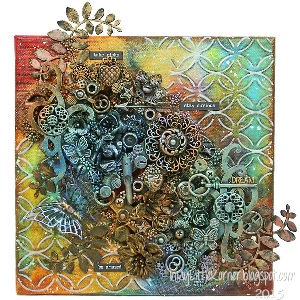 Canvas featuring Viva Decor | Creative Scrapbooker Magazine