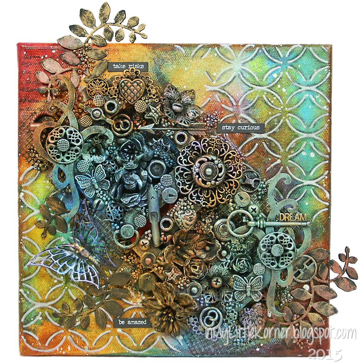 Canvas featuring Viva Decor | Creative Scrapbooker Magazine