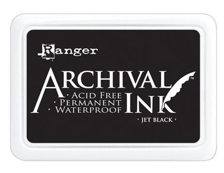 Ranger Archival Jet Black Ink | Creative Scrapbooker Magazine