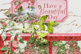 Cardmaking with Heartfelt Cration collection