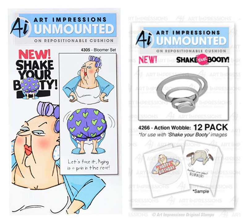 Art Impressions Stamps and Action Wobbles | Creative Scrapbooker Magazine