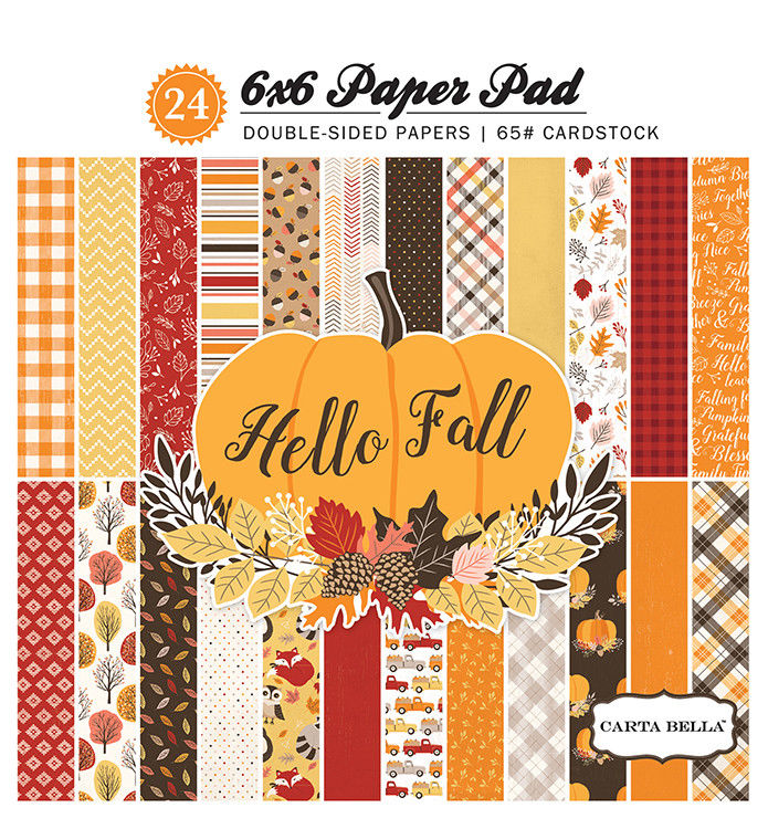 Carta Bella Hello Fall Collection | Creative Scrapbooker Magazine