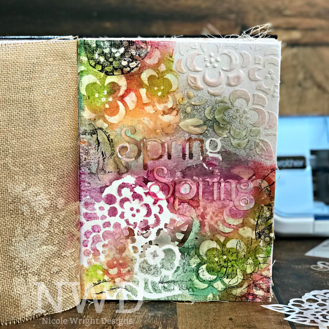 Create Stencils with the Brother ScanNCut2 by Nicole Wright | Creative Scrapbooker Magazine