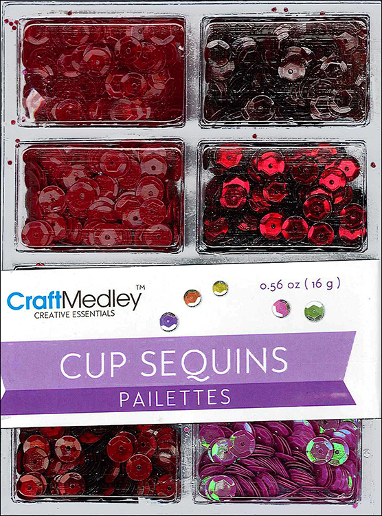 MultiCraft Craft Medley Sequins | Creative Scrapbooker Magazine