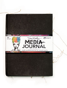 Ranger Dina Wakley Mixed Media Journal | Creative Scrapbooker Magazine