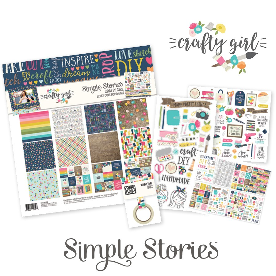 Simple Stories Crafty Girl Collection | Creative Scrapbooker Magazine