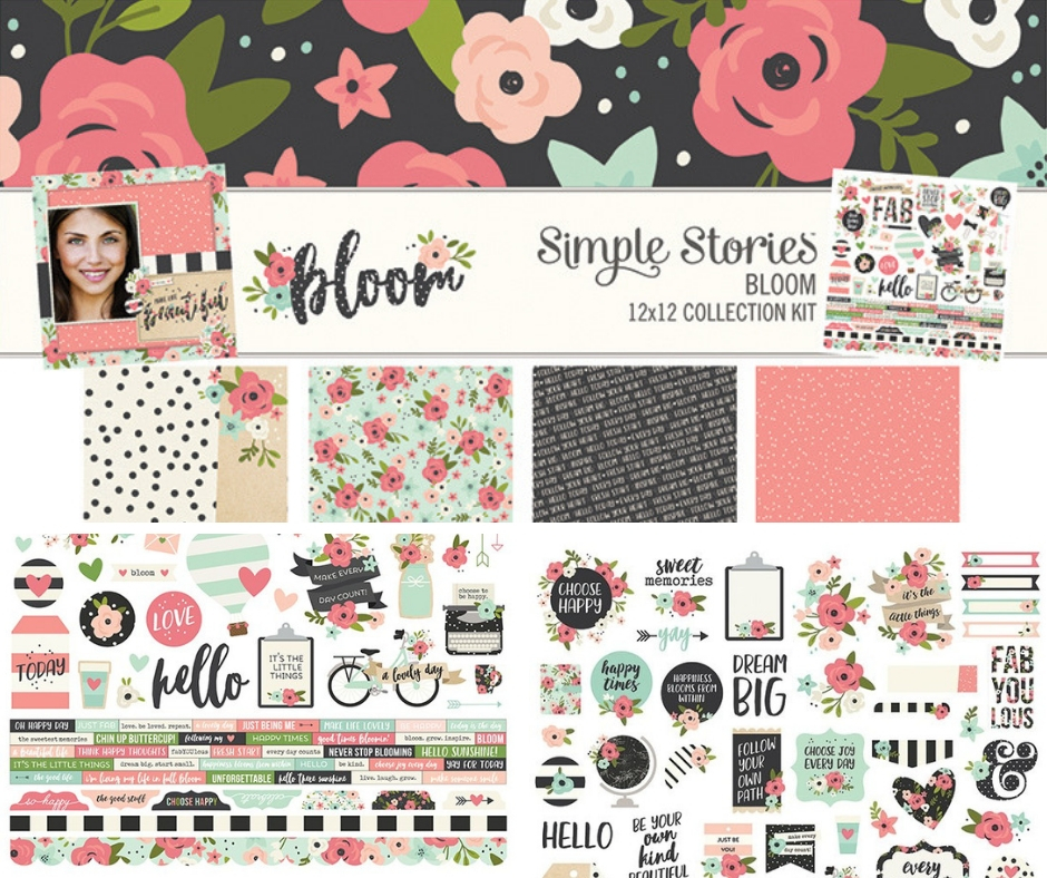 Simple Stories Bloom Collection | Creative Scrapbooker Magazine