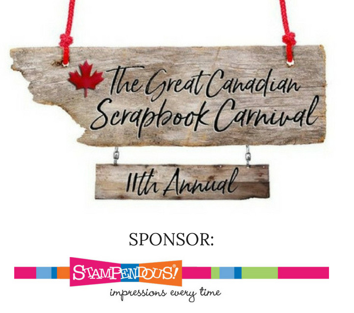 Stampendous - The Great Canadian Scrapbook Carnival Sponsor | Creative Scrapbooker Magazine