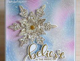 Stampendous Christmas Card   Creative Scrapbooker Magazine