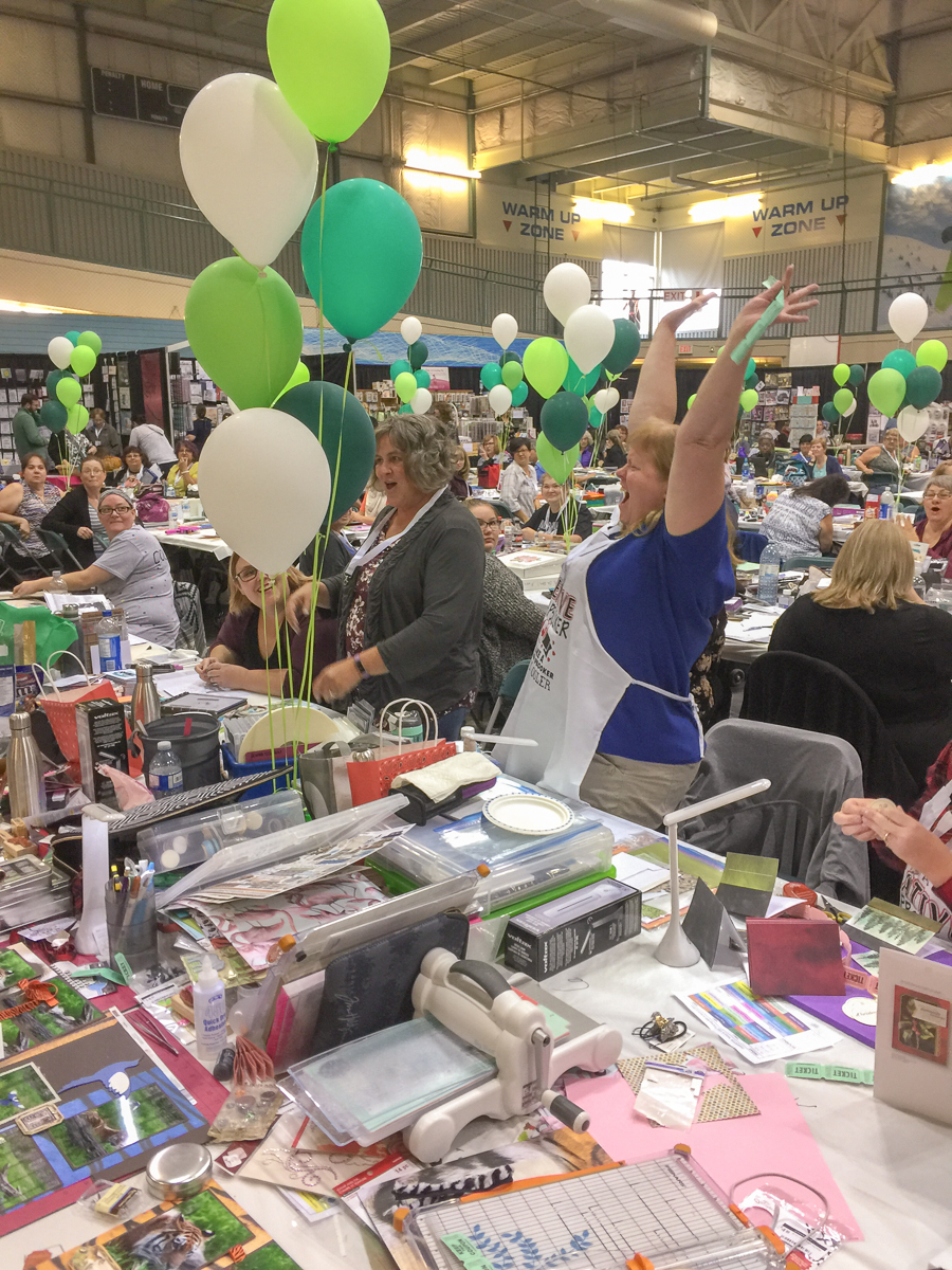 The Great Canadian Scrapbook Carnival / CreativFestival in Sherwood Park Alberta