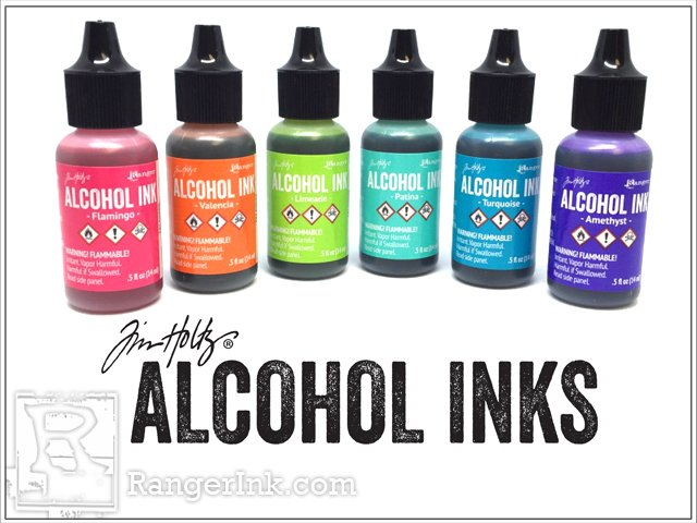 Ranger Tim Holtz Alcohol Inks | Creative Scrapbooker Magazine