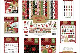 Celebrate Christmas collection by Echo Park Paper Co. | Creative Scrapbooker Magazine Giveaway