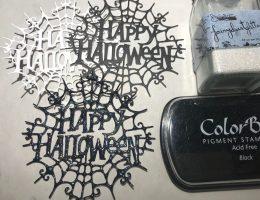 Impression Obsession Dies - Happy Halloween