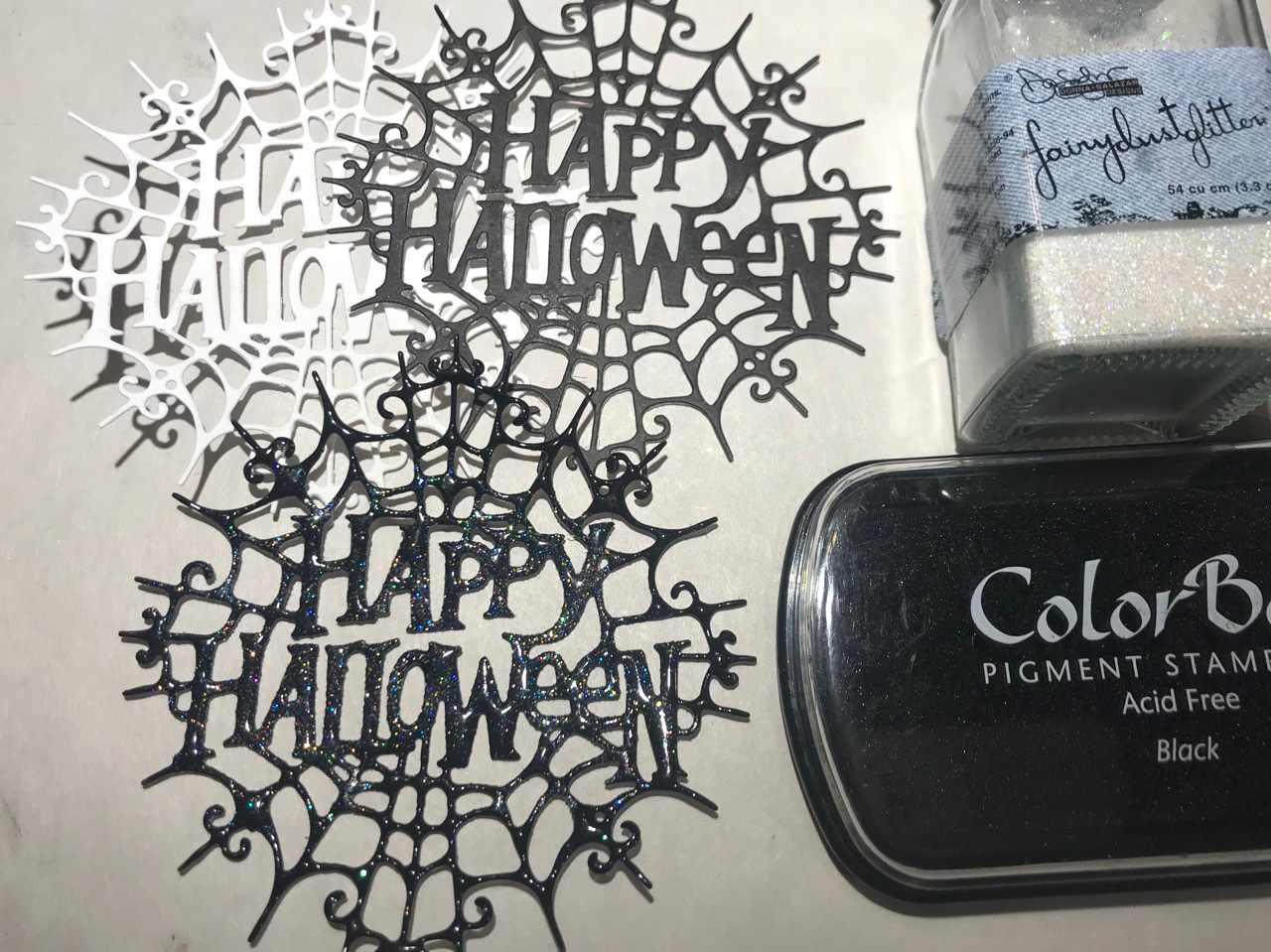 Impression Obsession Dies - Happy Halloween