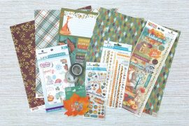 Autumn Woods Collection by Paper House Productions | Creative Scrapbooker Magazine