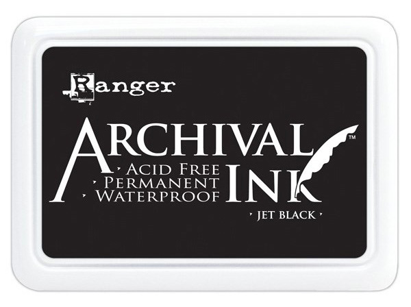 Ranger Archival Black ink | Creative Scrapbooker Magazine